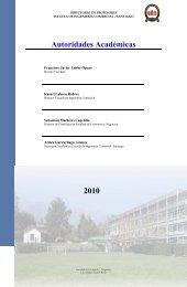 Autoridades Académicas - Universidad Andrés Bello