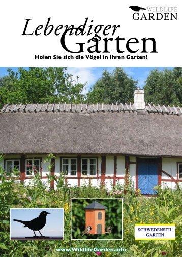 Holen Sie sich die Vögel in Ihren Garten! www.WildlifeGarden.info