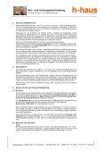Bau– und Leistungsbeschreibung - h-haus - Seite 2