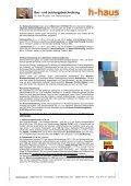 Bau– und Leistungsbeschreibung - h-haus - Seite 3