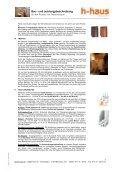 Bau– und Leistungsbeschreibung - h-haus - Seite 5