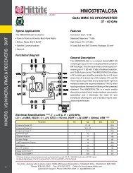 HMC6787ALC5A - Hittite Microwave