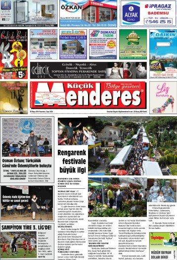 05 Mayıs Tarihli Küçükmenderes Gazetesi