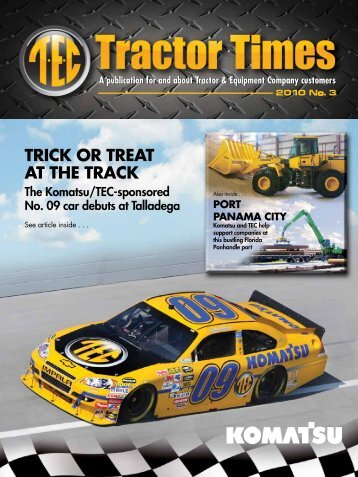 TRICK OR TREAT AT THE TRACK - TEC Tractor Times