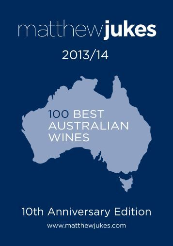 100 Best Australian Wines 2013/14. - Matthew Jukes