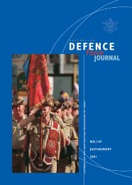 ISSUE 149 : Jul/Aug - 2001 - Australian Defence Force Journal