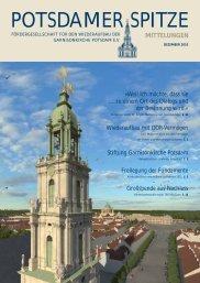 mittelungen - Wiederaufbau der Garnisonkirche Potsdam