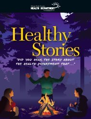 Healthy Stories - Miami-Dade County Health Department