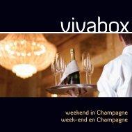 weekend in Champagne week-end en Champagne - Vivabox