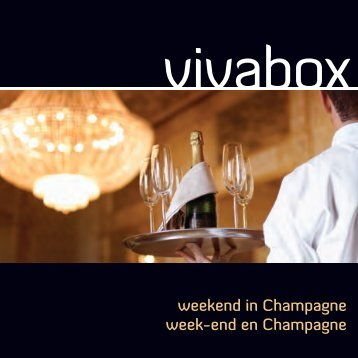 weekend in Champagne week-end en Champagne - Vivabox