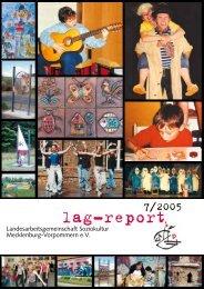 Download lag-report 07 (2005) - Landesarbeitsgemeinschaft ...