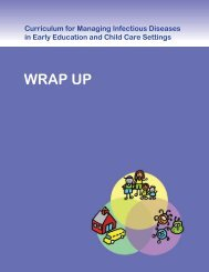 WRAP UP - Healthy Child Care America