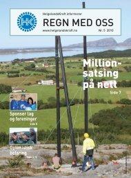 Regn med oss nr 5 - Helgelandskraft