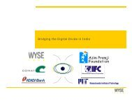 Bridging the Digital Divide in India - Wyse Technology