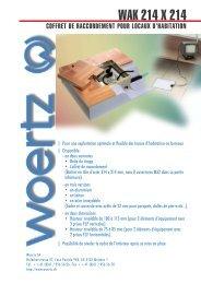 WAK 214 X 214 - Woertz Carolina Inc.