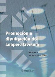 Programa cooperativas.indd - Consello Galego de Cooperativas