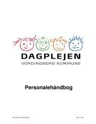 Link til Personalehåndbog i pdf-format - Vordingborg Kommune