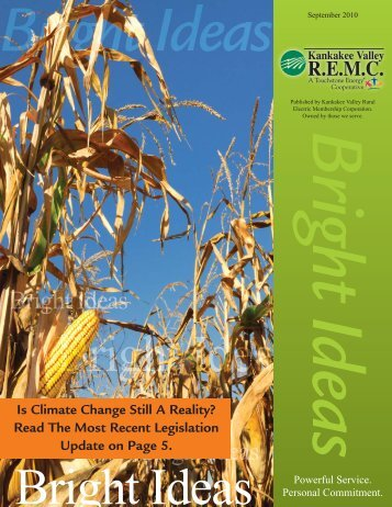 September 2010 Newsletter.indd - Kankakee Valley REMC