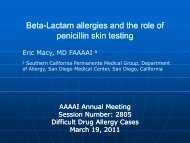 Beta-Lactam allergies and the role of penicillin skin testing - AInotes