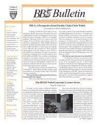 March/April 2006 - Division of Medical Sciences Bulletin - Harvard ...