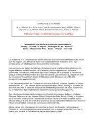 Lancement d'une étude de fusion des communes de Bussy - Sévaz