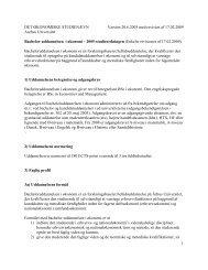 1 DET ØKONOMISKE STUDIENÆVN Version 20.6.2005 med ...