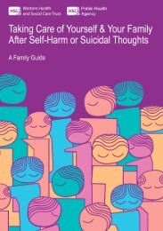 Taking Care of Yourself and Your Family After Self-Harm or Suicidal ...