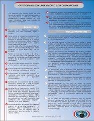 Categoria especial por vinculo con costarricense.pdf - Dirección ...
