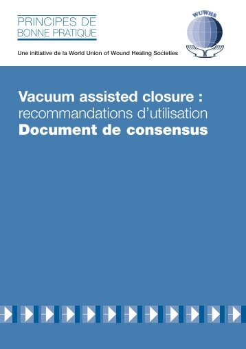 Vacuum assisted closure: recommandations d'utilisation - Wounds ...