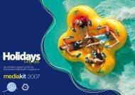 mediakit 2007 - Holidays with Kids