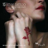 Productfolder Glitter tattoo