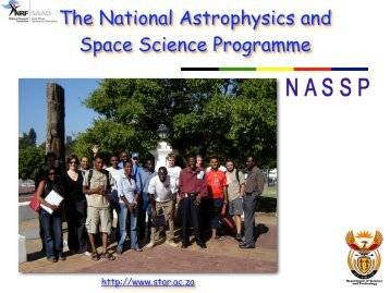 The National Astrophysics and Space Science Programme