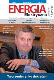 numer 11/2008 - E-elektryczna.pl