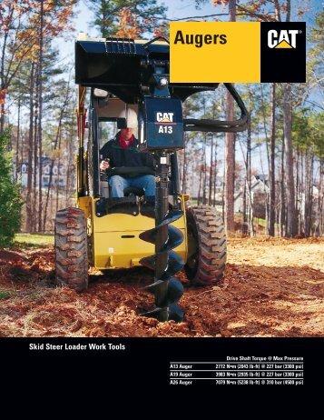 AEHQ5357-01 - Augers - Skid Steer Loader Work Tools - Kelly Tractor