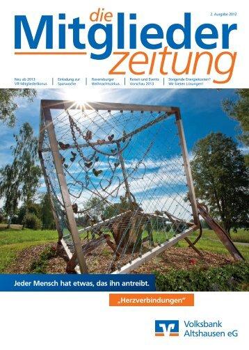 Mitglieder - Volksbank Altshausen eG