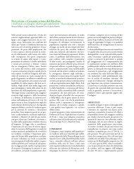 Percezione e Comunicazione del Rischio: - ARPA Umbria