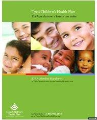 Texas Children's Health Plan - sygdoms