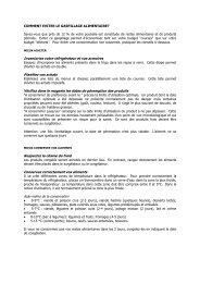 COMMENT EVITER LE GASPILLAGE ... - Ville de Namur
