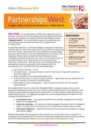 Partnership Bulletin Issue 35 January 2012 - West Cheshire Together