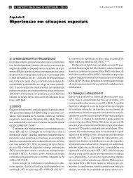 Capítulo 8 – Hipertensão em situações especiais