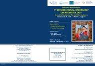 7th INTERNATIONAL WORKSHOP ON ... - Biomedia online