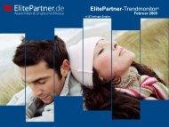 ElitePartner-Trendmonitor © Februar 2009 - ElitePartner-Akademie