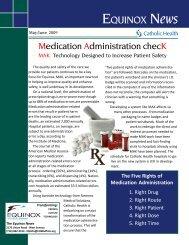 New EQ News Template - Catholic Health System