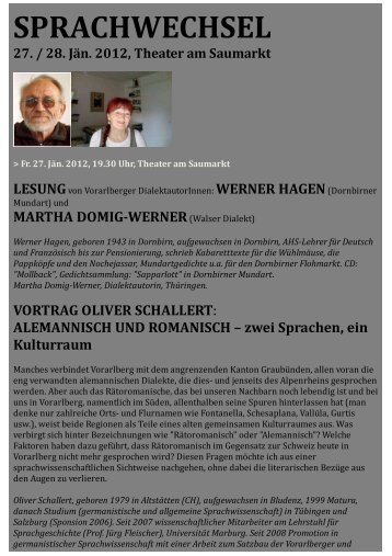 Originaltextes - Vorarlberger Walservereinigung