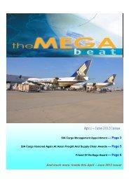 April – June 2013 Issue - Singapore Airlines Cargo