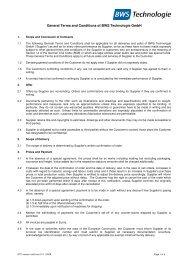 Download PDF file - BWS Technologie Gmbh