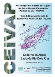 Caderno de Ações Bacia do Rio Dois Rios - ceivap