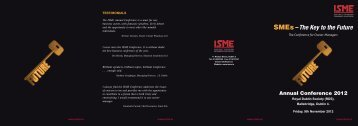You can download the full conference programme here. - ISME