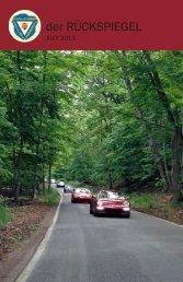 Volume 40 Issue 7, July 2013 - Maumee Valley - Porsche Club of ...