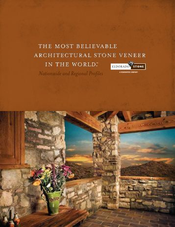 Eldorado Stone Brochure - ALL Masonry & Landscape Supply